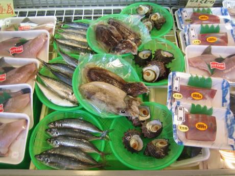 道の駅 きららあじす 鮮魚売場「あじす新鮮市場」